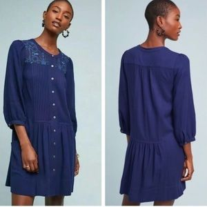Anthropologie | Button Down Shirt Dress Size 6